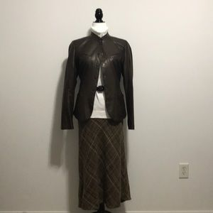 Plus Size - A great skirt with  shades of brown